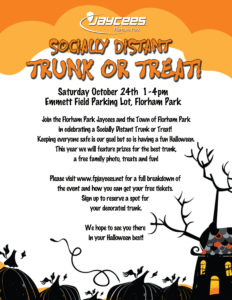 Trunk or Treat @ Emmett Park Parking Lot